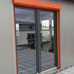 Balkonfenster mit Rolladen