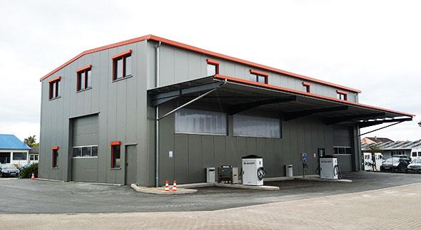 Halle-14,0x24,6x7,50-5°-gedämmt-100mm